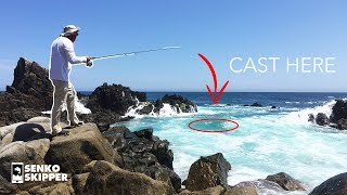 CRAZY DAY of Fishing on the Cliffs of Mexico!