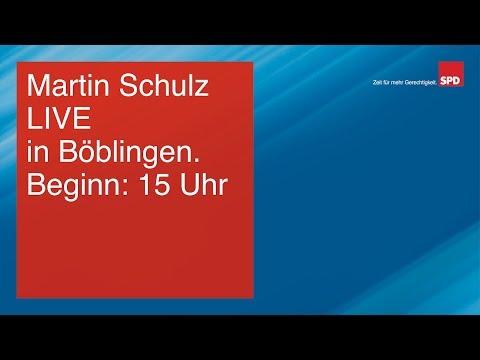 Martin Schulz LIVE in Böblingen