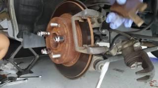 Honda Accord Honda Civic Honda rear brake job.