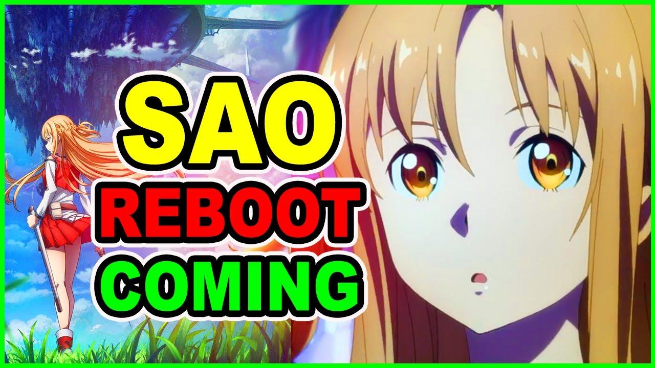 SAO Progressive Anime CONFIRMED! What is SAO Progressive? | SAO Reboot Coming