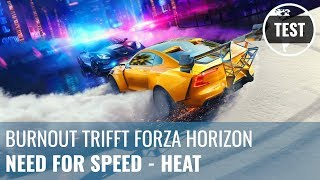 Need for Speed - Heat im Test: Burnout trifft Forza Horizon (Review, German)