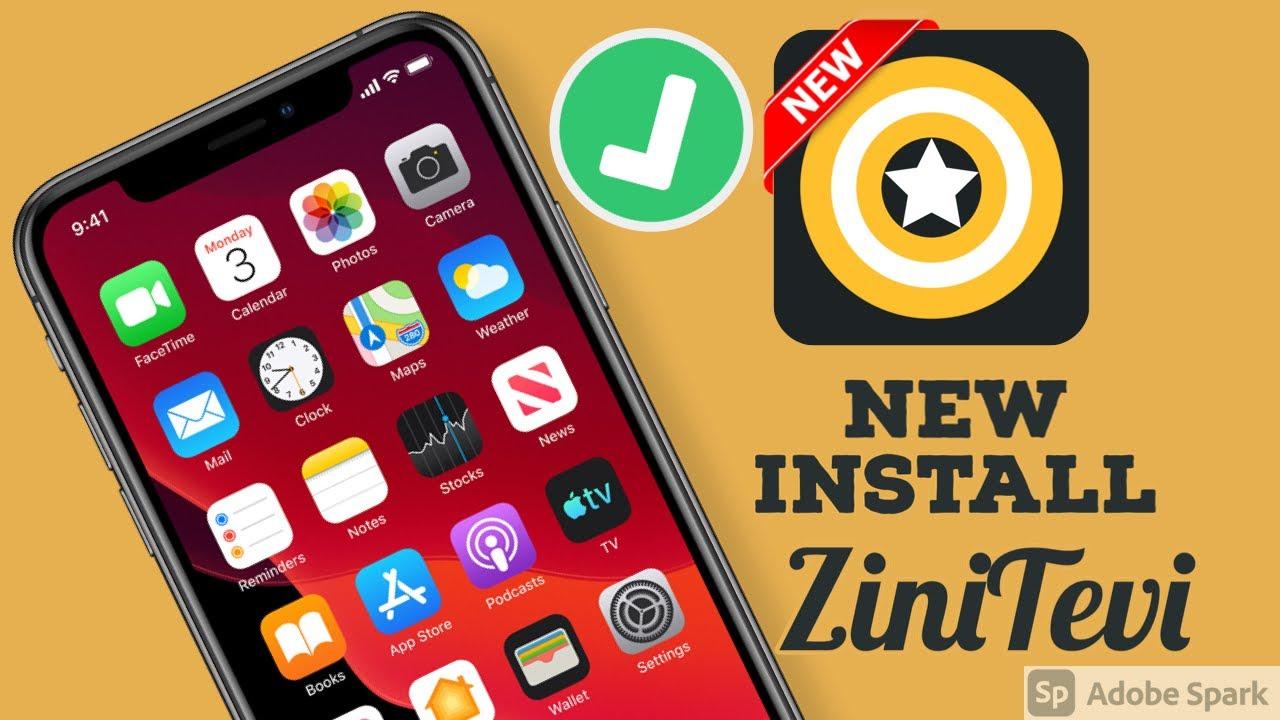 Download New Install Fix ZiniTevi iOS 14 - 14.1 / 13 / 12 NO Computer NO Jailbreak NO Revoke iPhone iPad 2021