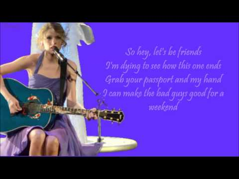 [HQ] Taylor Swift - Blank Space + Lyrics