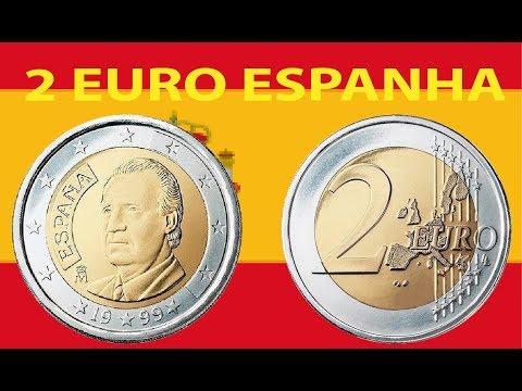 MOEDA 2 EUROS ESPANHA 2002