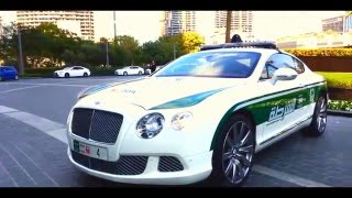 Dubai Police Force SuperCars 2016 - In Action