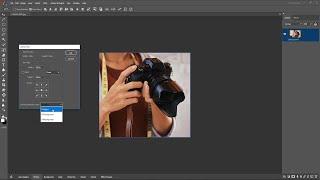 Photosense मे  Canvas  Resize  करें