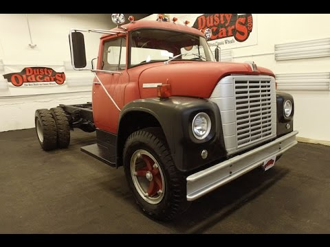 DustyOldCars.com 1972 International Harvester Loadstar B1700 Fire Truck SN1157