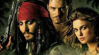 Музыка из фильма Пираты карибского моря.