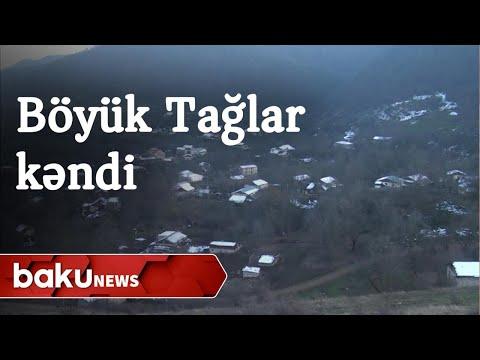 Xocavənd rayonunun Böyük Tağlar kəndindən videogörüntülər