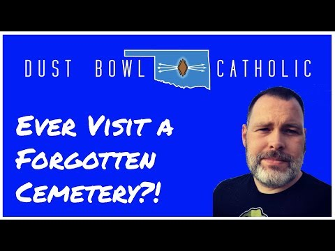 Ever Visit a Forgotten Czech Cemetery?! - Dust Bowl Catholic