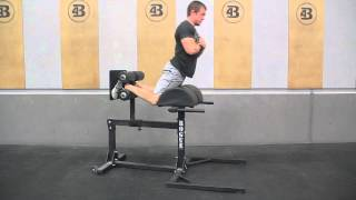 Glute Ham Raise - Four Barrel CrossFit