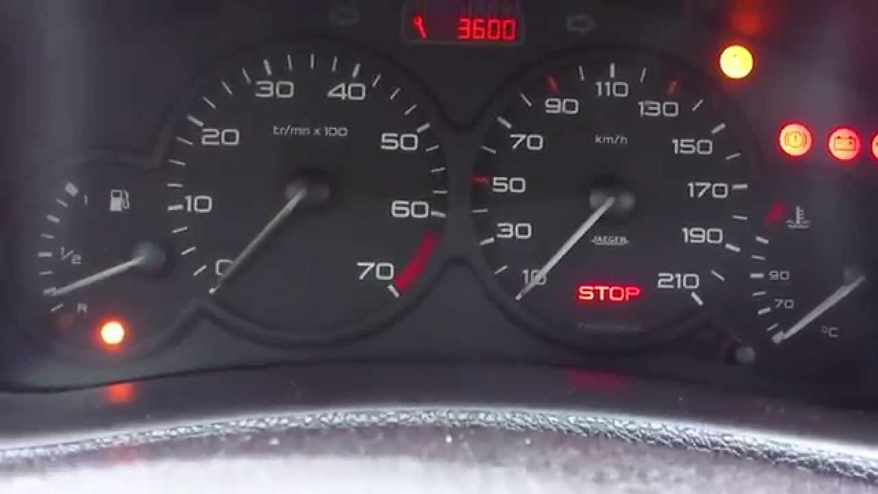 Peugeot 206 se apago y no enciende