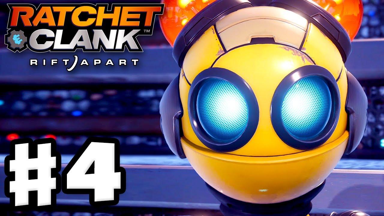 Ratchet & Clank: Rift Apart - Gameplay Walkthrough Part 4 - Ratchet Meets Kit! (PS5)