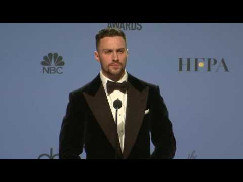 Thumbnail: Aaron Taylor Johnson - Golden Globes 2017 - Full Backstage Interview