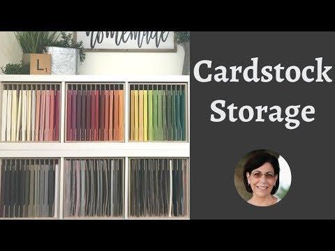 The Best Ikea Kallax Hack with Helpful Cardstock Storage