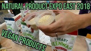 Natural Products East 2018 (vegan products) Full coverage