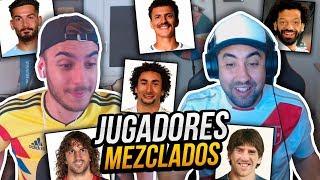 JUGADORES MEZCLADOS DEL MUNDIAL 2018 con ROBERT PG