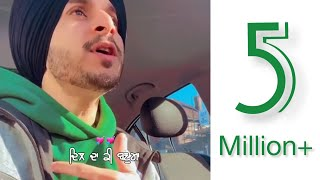 Aas (Official Video) Navjeet | New Punjabi Sad Song 2019 | HD Lyrics Video