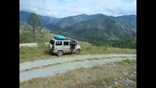 На машине на Алтай 2015(В конце июля на автомобиле УАЗ Патриот, прокатились по горному Алтаю. Посетили несколько красивейших мест..., 2016-02-23T16:35:47.000Z)