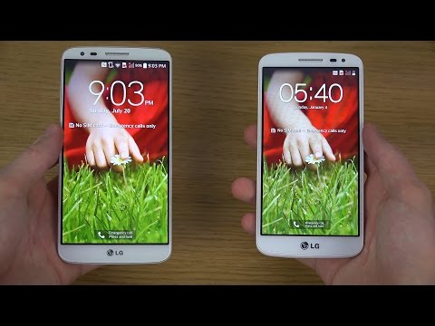 LG G2 vs. LG G2 Mini - Review (4K)
