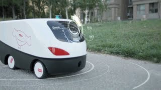 Çin Malı Robotlarla Kargo Hizmeti Başlatıldı