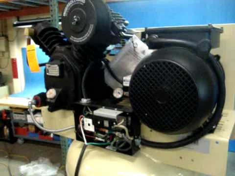 hqdefault ingersoll rand 80 gallon compressor njb 40761 youtube ingersoll rand wiring diagrams at bayanpartner.co