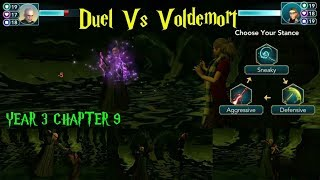 Duel Vs Voldemort Harry Potter Hogwarts Mystery Year 3 Chapter 9 Gameplay#2