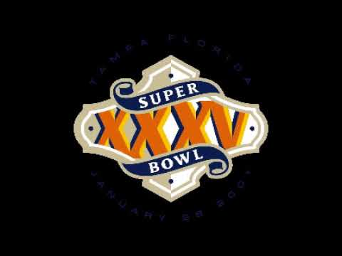 Super Bowl 35 (XXXV) - Radio Play-by-Play Coverage - CBS Radio Sports