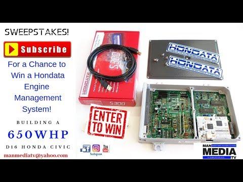 Win a Free Hondata s300 P28 ECU!
