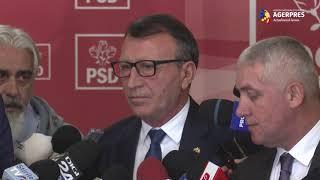 Stănescu: Cred că PSD a făcut o greşeală; Ţuţuianu şi Neacşu n-au avut acţiuni împotriva partidului