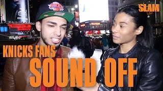 Knicks Fans SOUND OFF on Carmelo, Oakley, Phil, Dolan & More!