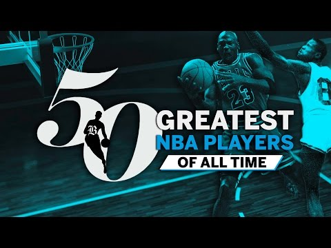 Top 50 NBA players of all-time