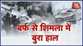 Fresh Snowfall Makes Shimla Shiver At -3.2° Celsius, Things Will Get Chillier In Coming Days