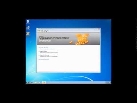 Create & Publish a Virtual App with Microsoft App-V
