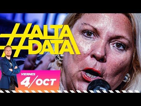 Carrió planea mentir en la elección   #AltaData, todo lo que pasa en un toque
