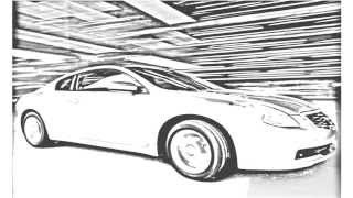 Auto Draw 2: Nissan Altima Coupe