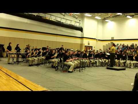 Avon Intermediate School West Band 1