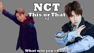 [NCT GAME] 'This or That' #2