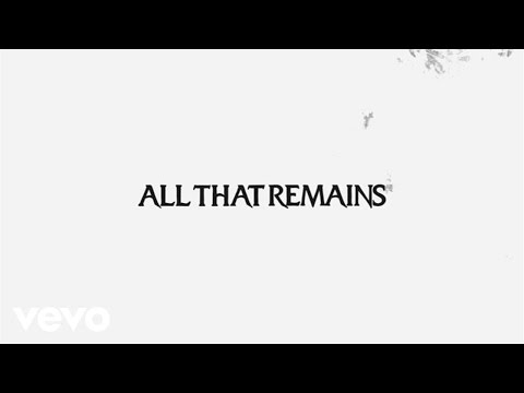 All That Remains - Halo (Lyric Video)