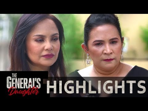 Amelia gets furious of Corazon | The General's Daughter