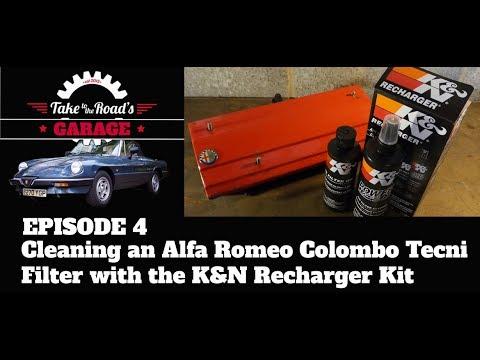 Take to the Roads Garage - Episode 4 - Cleaning a Colombo Tecni Filter with the K&N Recharger Kit