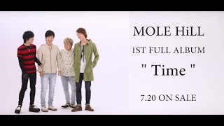 2016.7.20 Release 1st Full Album 「Time」 「前に進もう。この歌があ...