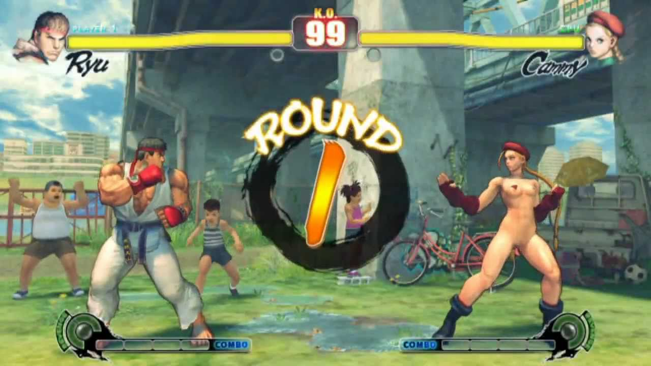 Cammy street fighter naked