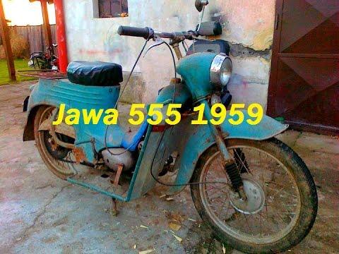 [ Oživenie ] - Jawa 555 1959