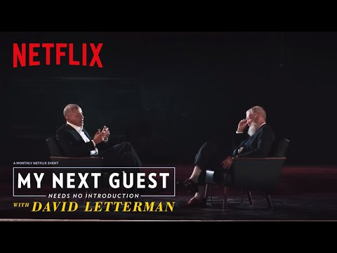 Obama On Taking 30 Minutes to Put Together a Lamp  My Next Guest Needs No Introduction  Netflix