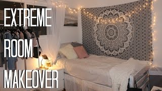EXTREME ROOM MAKEOVER!! | Karina Young