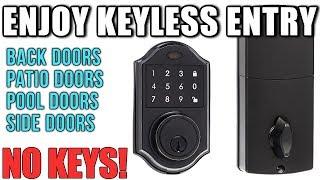 amazonbasics | Electronic Deadbolt Lock | keyless lock