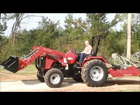 Purchasing Our Mahindra 4550: 50 HP 4x4 Tractor