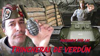 Recorriendo las trincheras de Verdun de la Primera Guerra Mundial (MibauldeblogsTV)