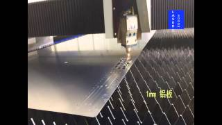 видео работы волоконного лазера 3000вт резки нержавейка алюминий и медь(, 2015-06-19T01:18:27.000Z)